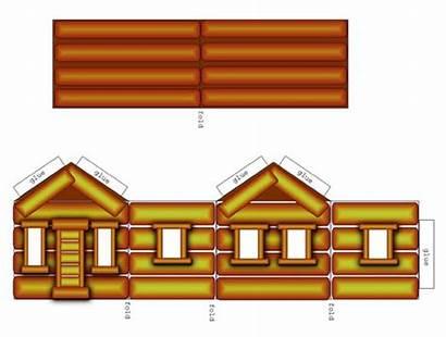 Cabin Log Clipart Clip Paper Cabins Li