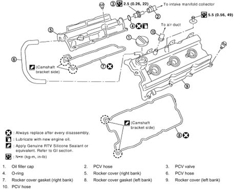 Frontier V6 Engine Diagram by 2006 Nissan Frontier 4 0l Engine Diagram