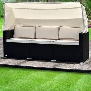 Lounge Sofa Mit Dach : salon de jardin deuba achat vente de salon de jardin deuba comparez les prix sur ~ Bigdaddyawards.com Haus und Dekorationen