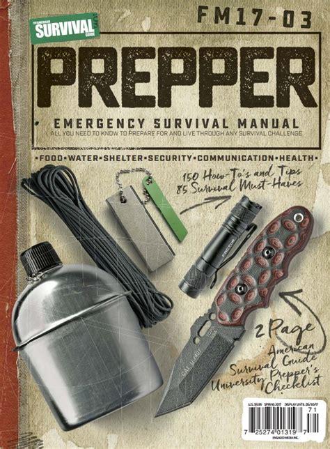 american survival guide prepper survival field manual