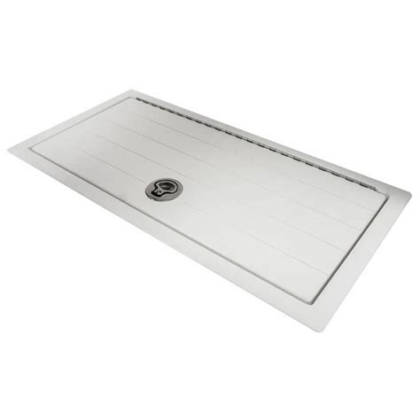 Aluminum Boat Hatch Lids by Starboard Deck Hatch With Square Corners