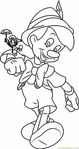 Pinocchio Cricket Jiminy Coloring Pages Drawing Printable Characters Cooking Wine Getdrawings Getcolorings Cartoon Coloringpages101 Colorings sketch template