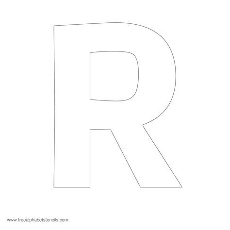 Block Letter Templates by 28 Images Of Capital Letter R Template Leseriail