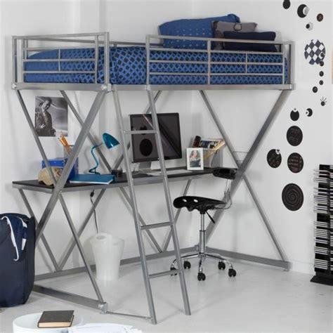 hauteur d un bureau lit en hauteur avec bureau intégré les atouts indéniables illustrés en 39 photos archzine fr