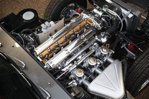 Jaguar E Type 3 8 Roadster 1961 Engine