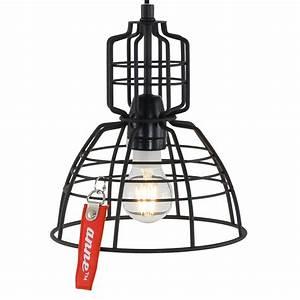 Suspension Industrielle Noire : suspension industrielle noir mark iii 22 cm lampe industrielle ~ Teatrodelosmanantiales.com Idées de Décoration