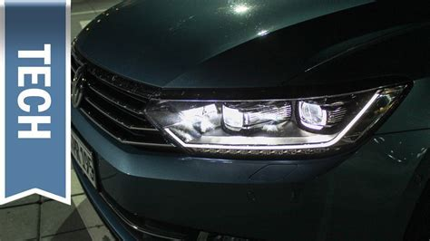 Volkswagen Active Lighting System (LED Scheinwerfer) im