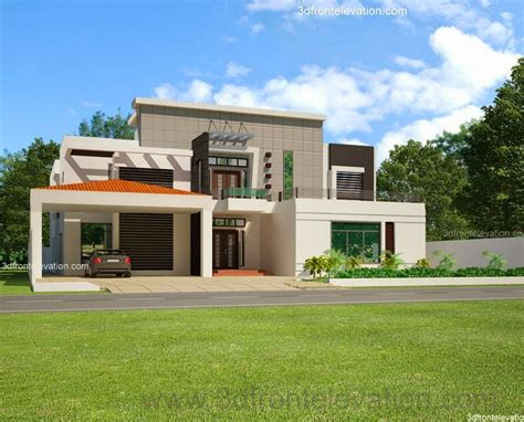 Home Design Plans In Pakistan by 3d Front Elevation 2 Kinal House Plan Design In