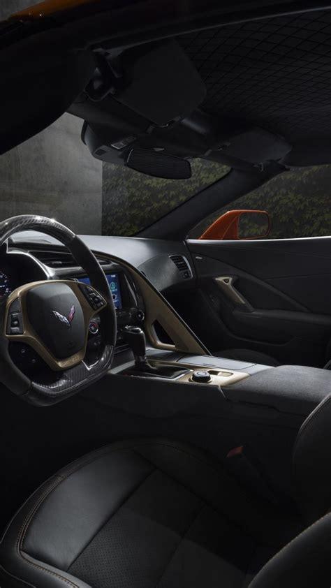 wallpaper chevrolet corvette zr interior  cars
