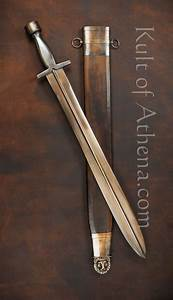 Greek Xiphos Sword with Bronzed Finish, what a beautiful ...