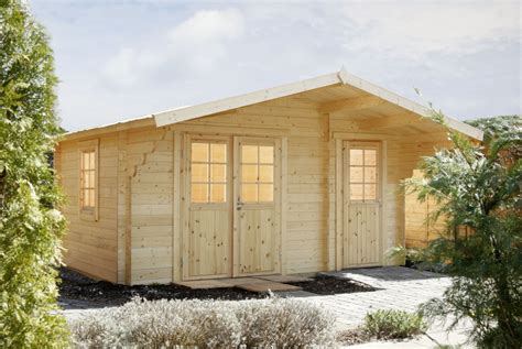 Gartenhaus «450x300cm Holzhaus Bausatz 34 Mm Klassik» 2