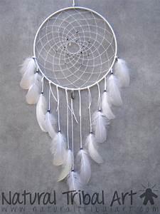 Attrape Reve Blanc : attrape r ves blanc lapis lazuli et plumes d 39 oie capteur de reves pinterest attrape r ve ~ Teatrodelosmanantiales.com Idées de Décoration