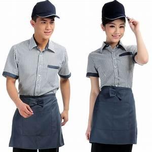 The XK132 hotel restaurant waiter uniforms overalls summer ...