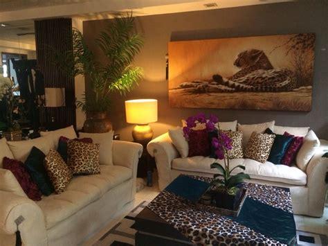 burgundyteal  leopard print living room decor