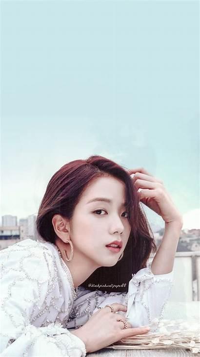 Jisoo Blackpink Revolution Cool Face Eyes Wallpapers