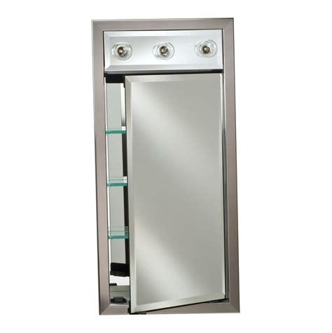 Lighted Medicine Cabinets Recessed   Home Design Ideas