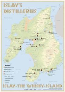 Scotland S Isle Of Islay Distilleries Infographic