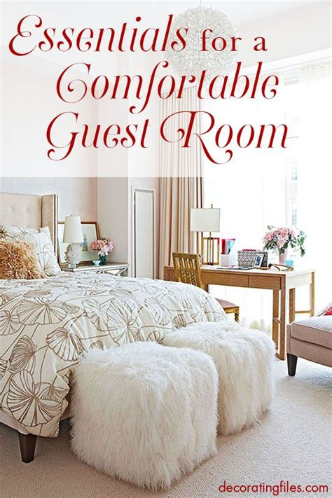 Essentials In Bedroom by Essentials For Creating A Comfortable Guest Room Want To