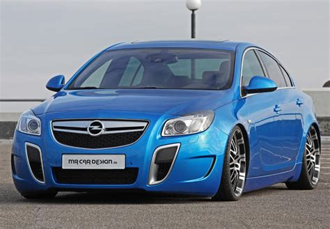 Car Design Opel Insignia Opc