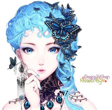 Best 25 Anime Blue Hair Ideas On Pinterest Anime Art