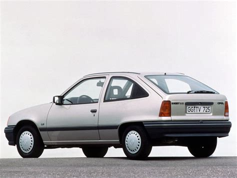 opel kadett opel kadett technical specifications and fuel economy
