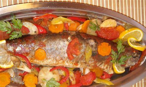 cuisine recette poisson poisson au four recettes de poissons cuisine marocaine
