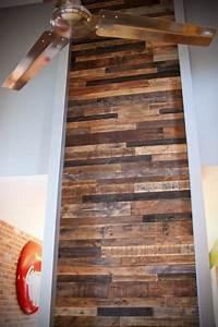 Realiser Un Plancher Bois : r aliser un mur en bois de palette o pinterest ~ Dailycaller-alerts.com Idées de Décoration