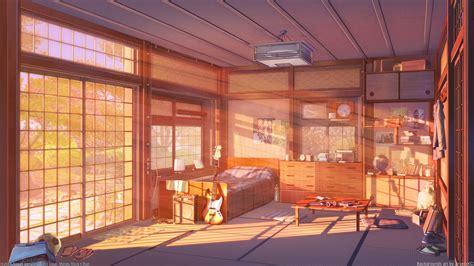 Anime Room Wallpaper - room sunset version by arsenixc on deviantart