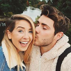 Zoella & Alfie Deyes Celebrate Five Years Together | Photo ...