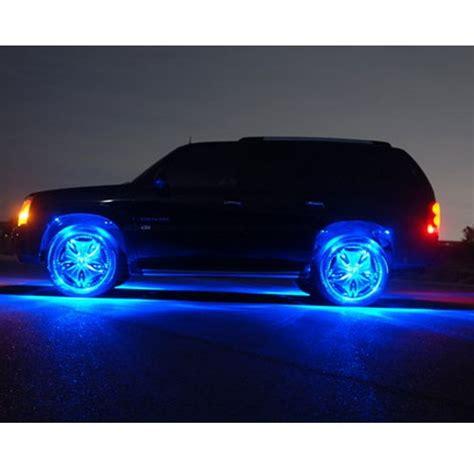 wheel well led kit strips truck lighting lights light fender rims glow strip bright illumination neon fenders bulbs replacement super