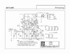 Wiring Diagram Ampeg Superjet