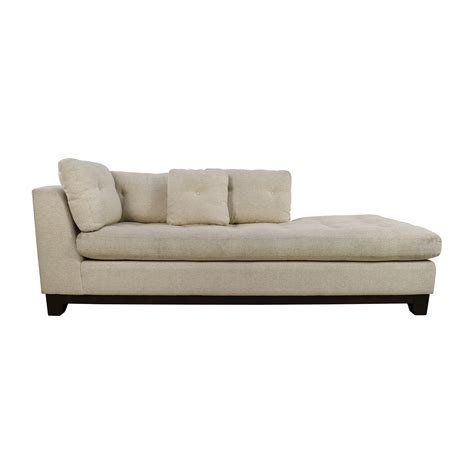 tufted sofa with chaise tufted chaise sofa 79 off freestyle tufted natural fabric