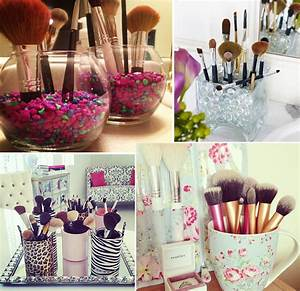 Rangement De Maquillage : inspirations rangement maquillage et chambre home closet makeup rooms room decor bedroom ~ Melissatoandfro.com Idées de Décoration