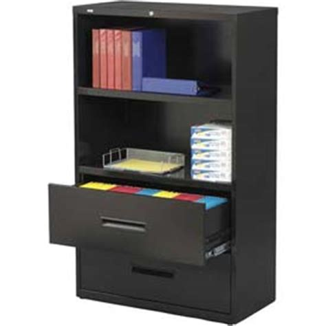 bookcase file cabinet combo file cabinets lateral hirsh industries lateral file