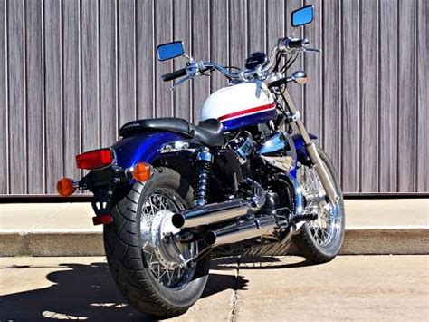 sold  honda shadow rs vtrs  miles youtube