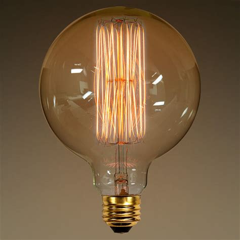 40 watt vintage light bulb g40 globe