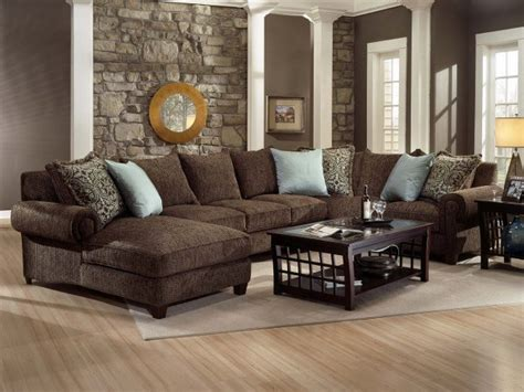 Brown Sectional Living Room Ideas by Brown Sofa For Living Room Room Decorating Ideas