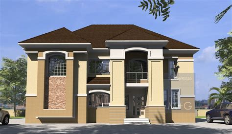Contemporary Nigerian Residential Architecture: 5 bedroom
