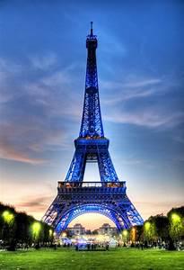 likefun me Paris, Eiffel Tower in spring bloom