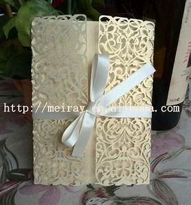 elegant unique wedding invitation cardslight gold pearl With laser cut wedding invitations online india