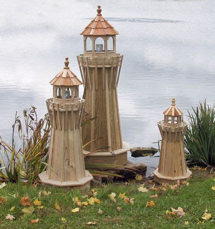 wooden lawn furniture lighthouses yutzys farm market    faith pinterest