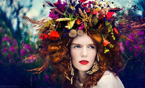 colorful  creative fashion photography examples