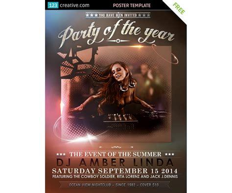 Su etsy trovi 1,303 event flyer design in vendita, e costano in media € 14,96. Classy Event poster template free download - for party, event, concert, film flyer (flyer ...