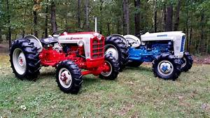 1958 Ford 861 Powermaster  1964 Ford 4000  2018