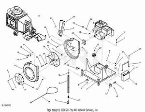 Dr Power Commercial Llv Parts Diagram For Blower  Chipper