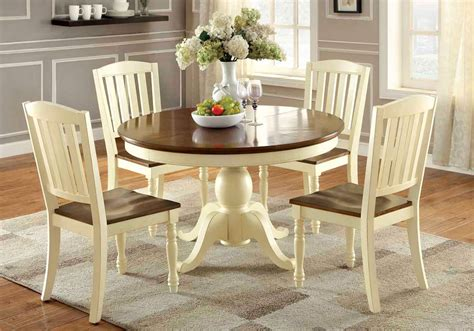 harrisburg  pcs dining set cattage white oak solid wood