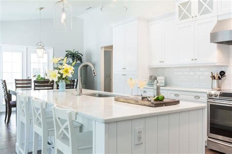 White Coastal Kitchen Photos Hgtv
