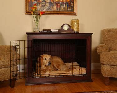 wood working dog crate furniture plans easy diy