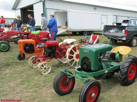 Vintage Garden Tractors by Tractordata 2014 Falls Two Cylinder Show