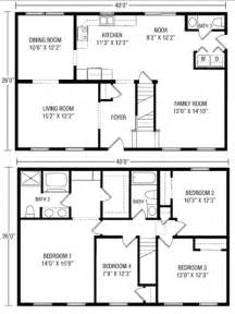 Floor Plans For Homes Two Story Ideas by U And U Modular Homes Two Story Floorplans